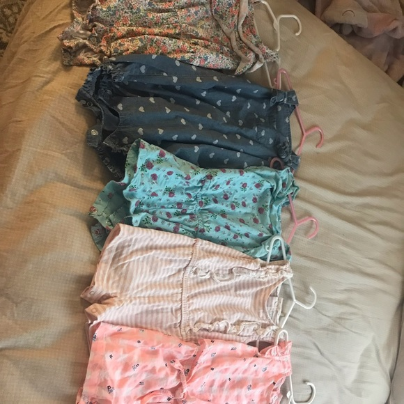 Carter's Other - Bundle of 24 month girls rompers